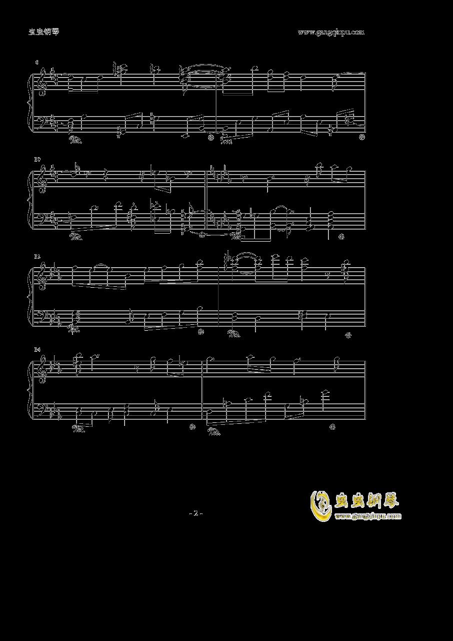 Violet Evergarden钢琴谱 第2页