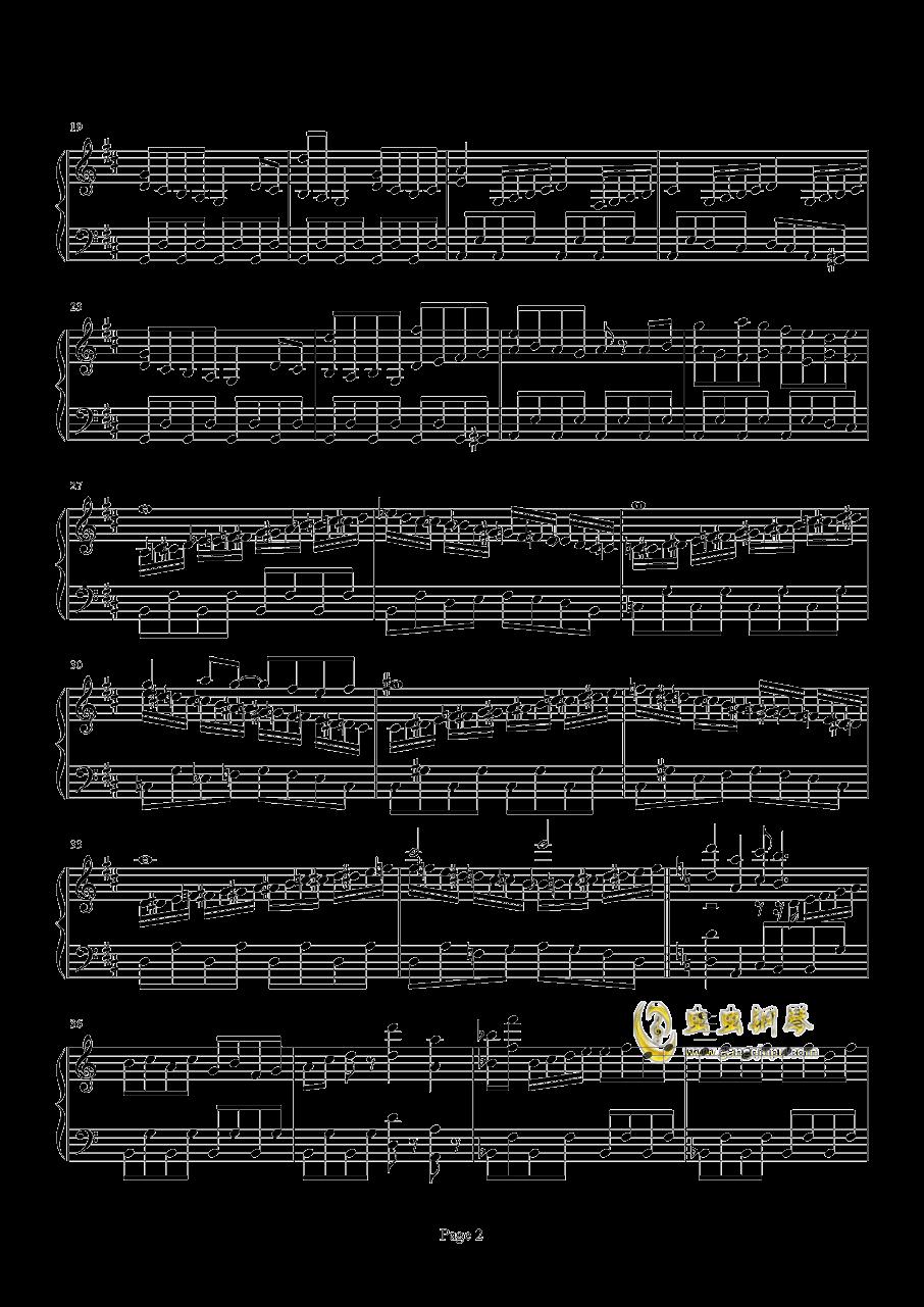 口袋妖怪初代遇怪音乐钢琴谱 第2页
