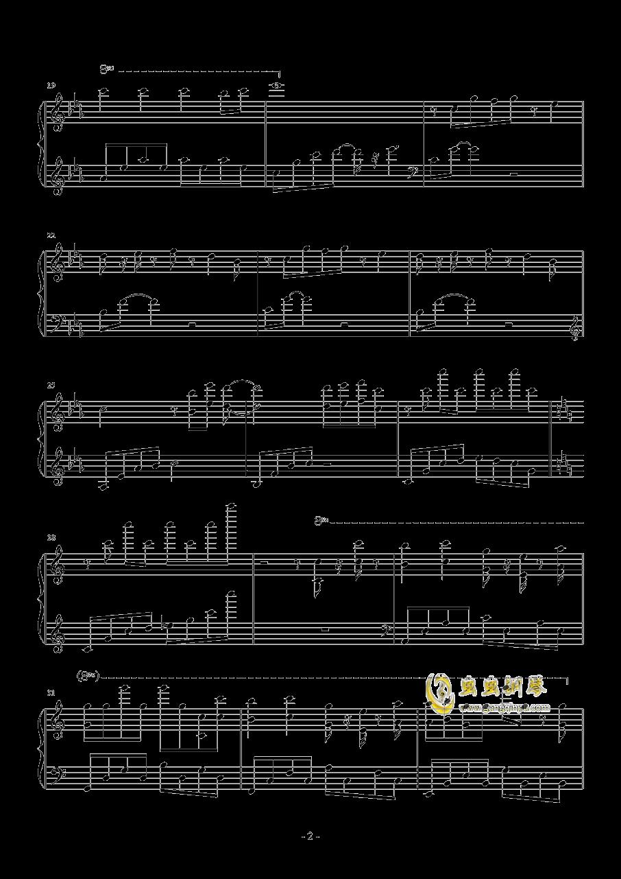 Bios钢琴谱 第2页