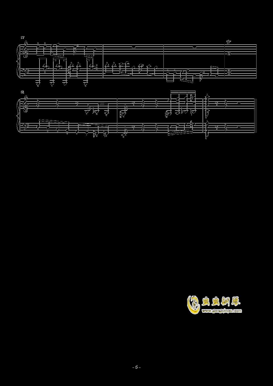 RED ALE钢琴谱 第6页