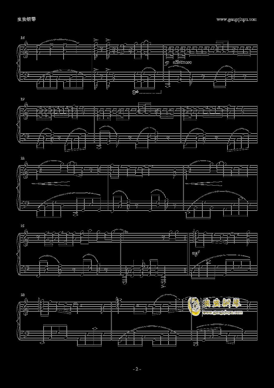 μ's~Sentimental StepS钢琴谱 第2页