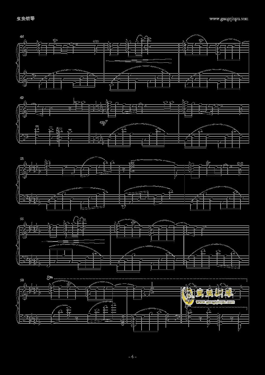 μ's~Sentimental StepS钢琴谱 第4页