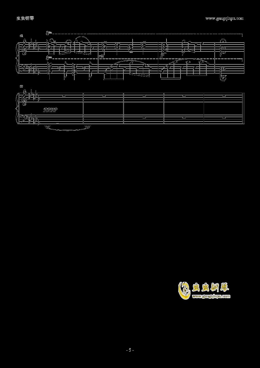 μ's~Sentimental StepS钢琴谱 第5页