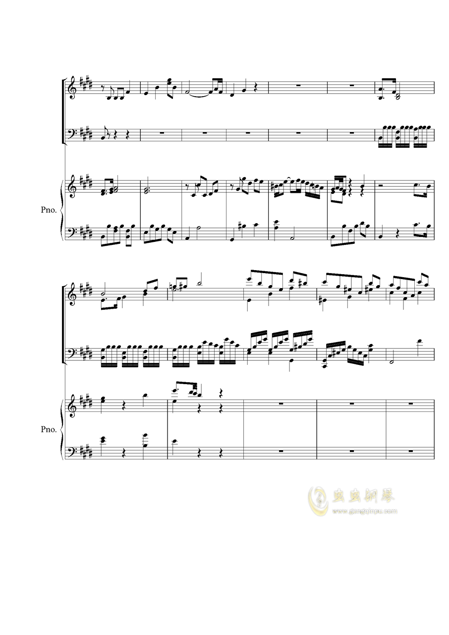 Piano Concerto No.2 钢琴谱 第2页
