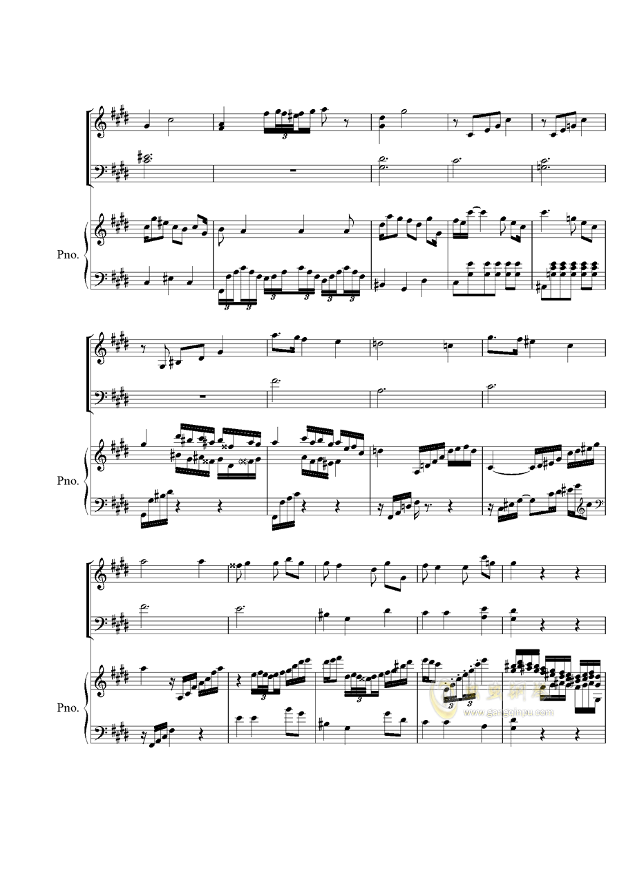 Piano Concerto No.2 钢琴谱 第5页