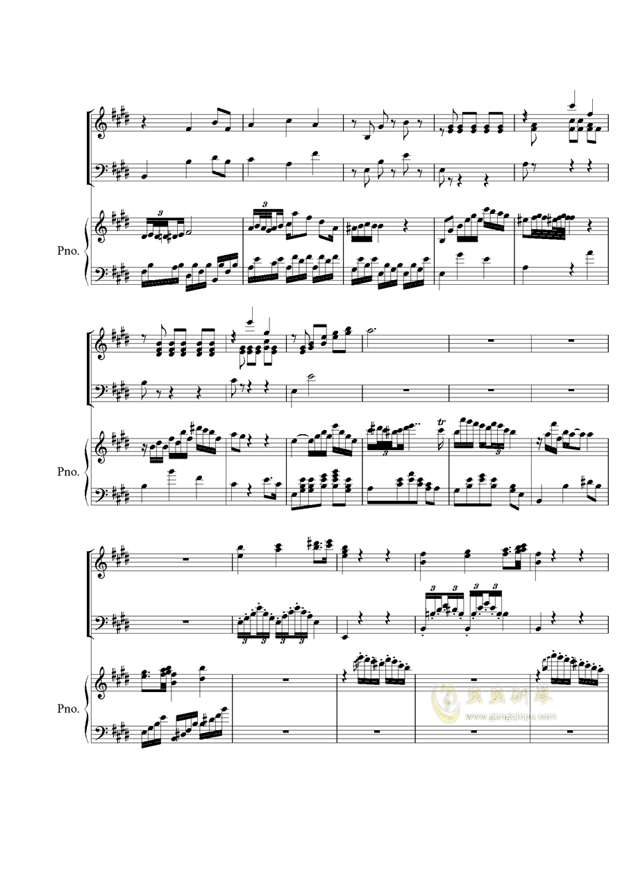Piano Concerto No.2 钢琴谱 第9页