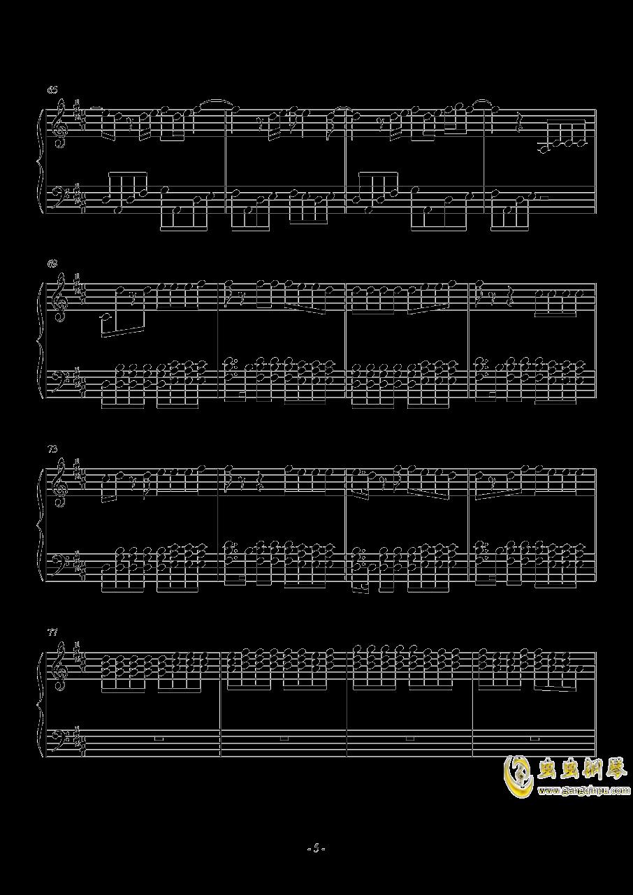 Something just like this钢琴谱 第5页