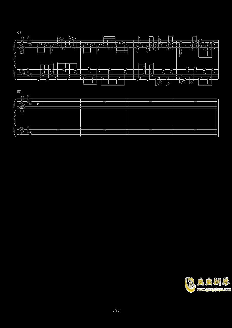 Something just like this钢琴谱 第7页