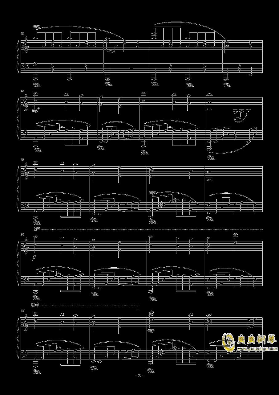 奥日与迷失森林钢琴谱 第2页