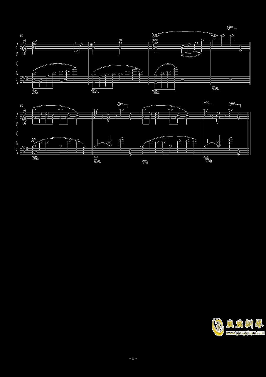 奥日与迷失森林钢琴谱 第3页