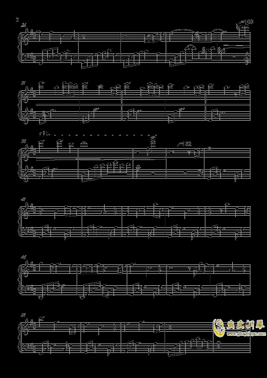 恋与制作人插曲棋逢对手钢琴谱 第2页