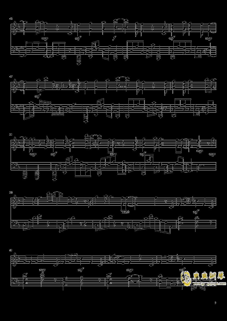 紫罗兰永恒花园钢琴谱 第3页