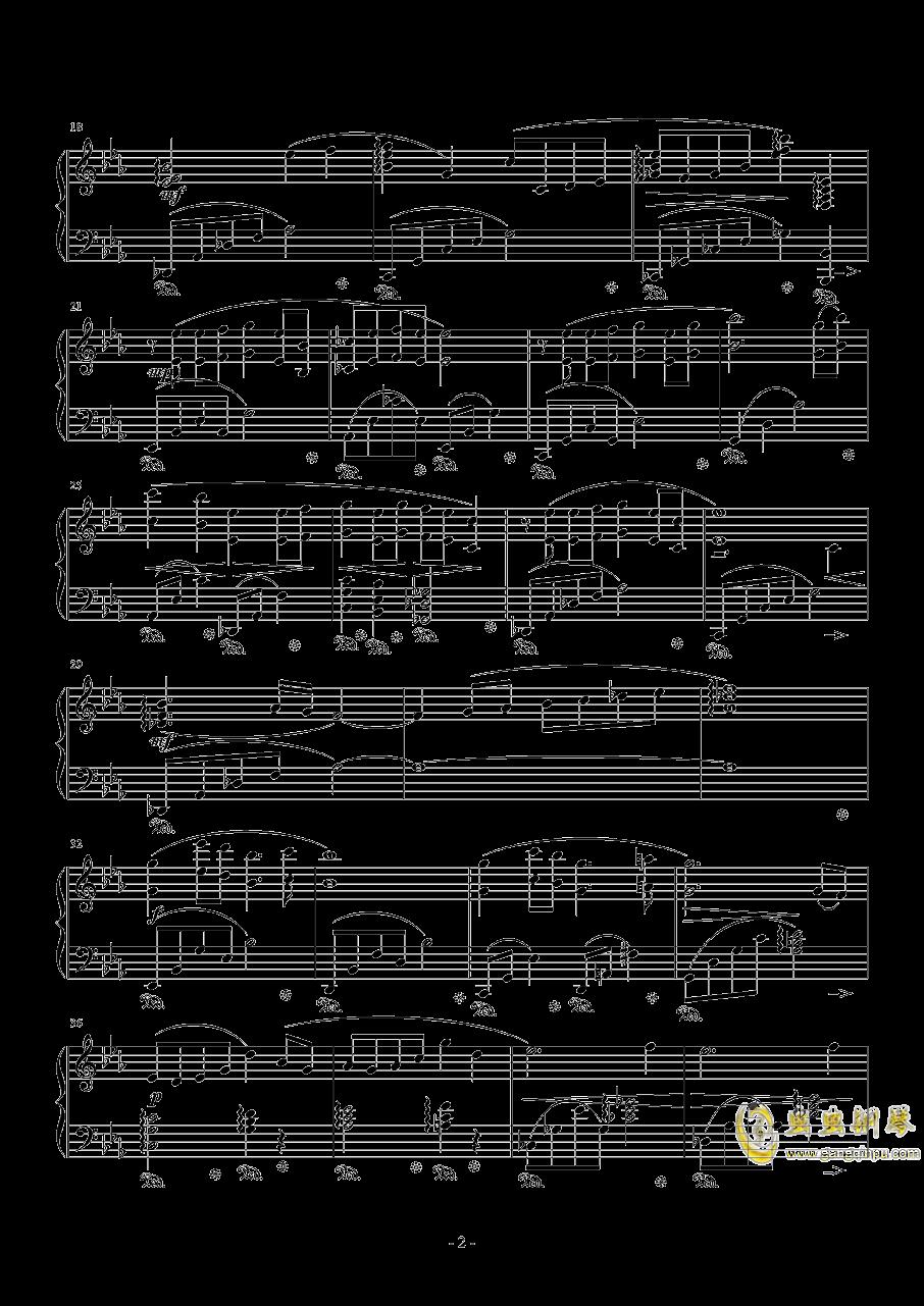 Fisherman钢琴谱 第2页