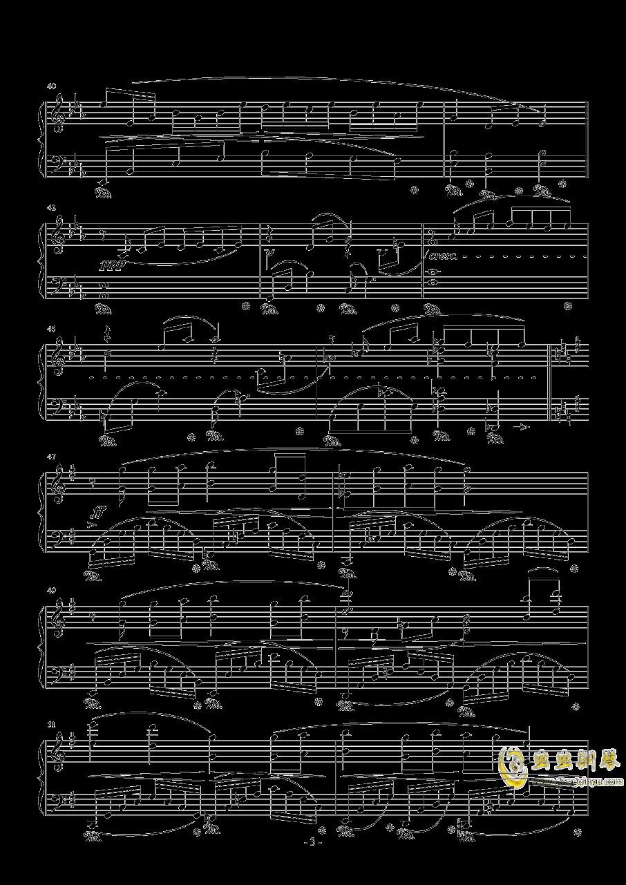Fisherman钢琴谱 第3页