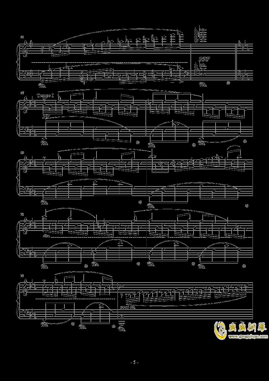 Fisherman钢琴谱 第5页