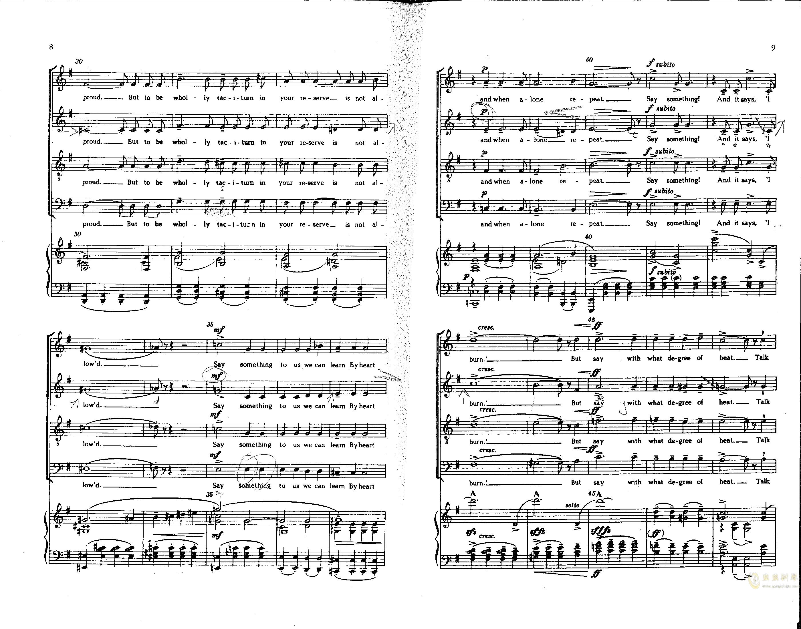 Choose something like a star钢琴谱 第3页