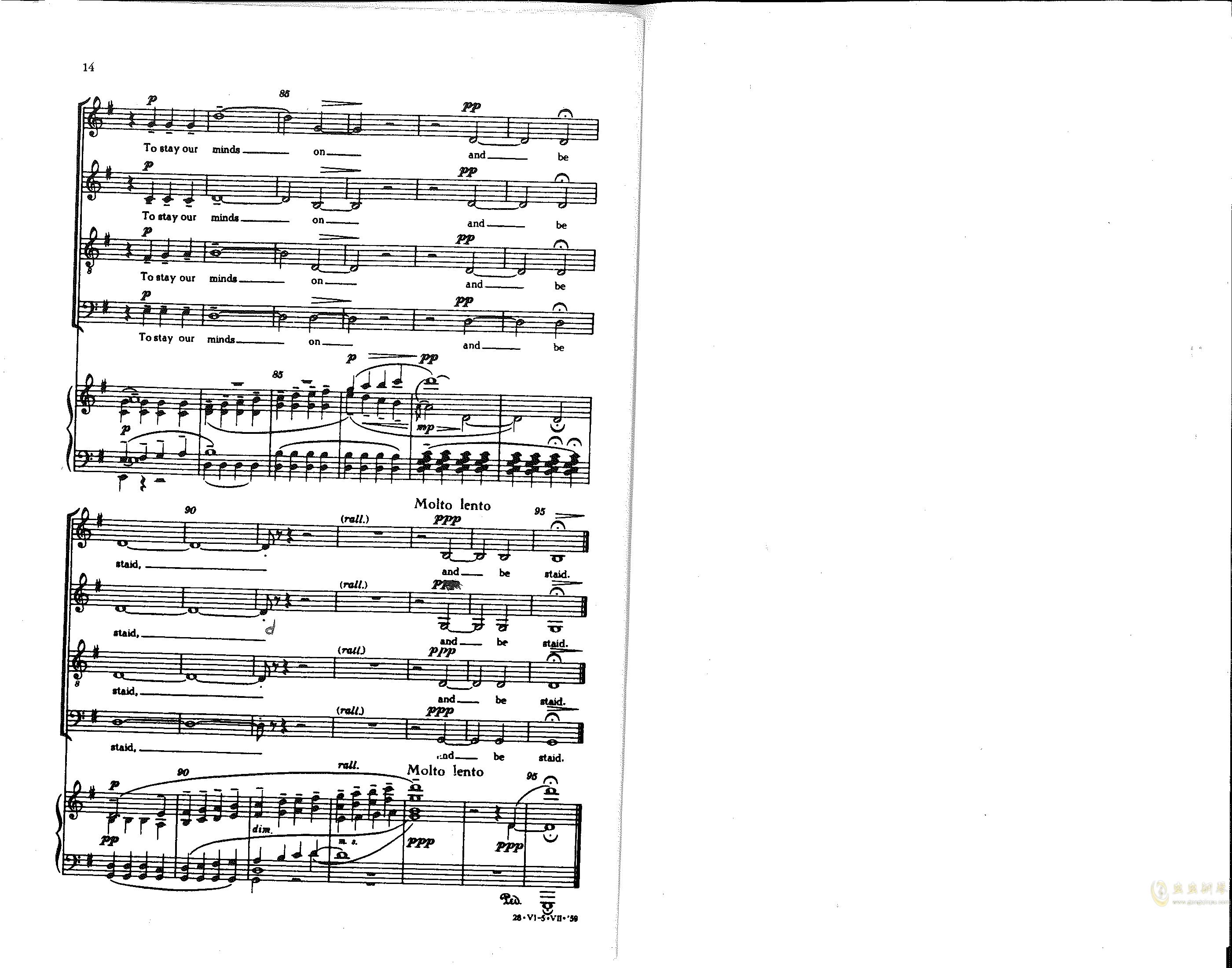 Choose something like a star钢琴谱 第6页