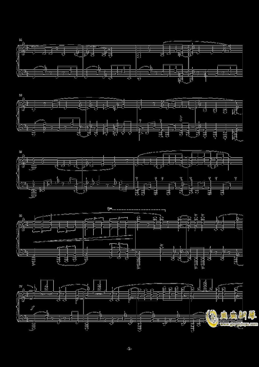 魔卡少女樱钢琴谱 第2页