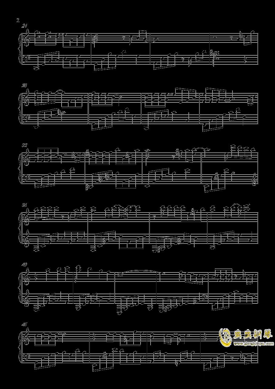 恋与制作人收场曲钢琴谱 第2页