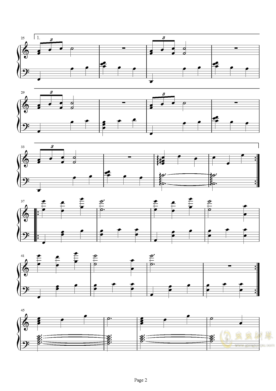imbalance/Alice钢琴谱 第2页