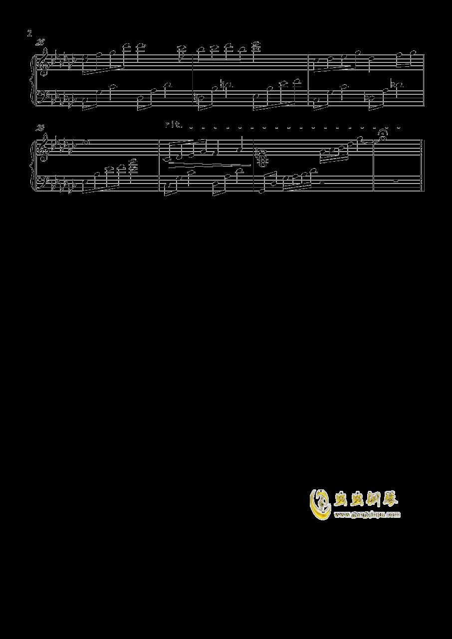 恋与制作人许墨人物配乐钢琴谱 第2页