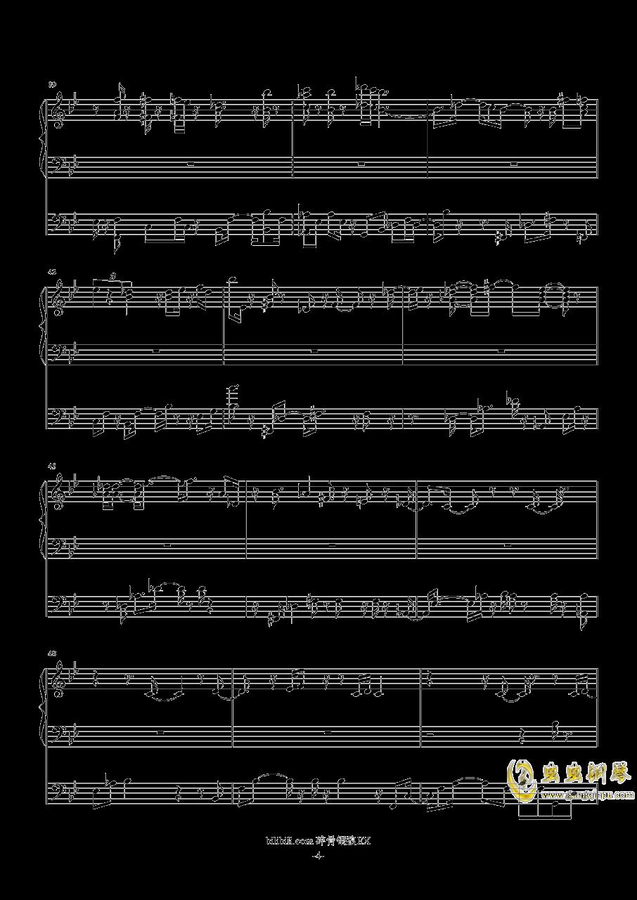 启程之歌钢琴谱 第4页