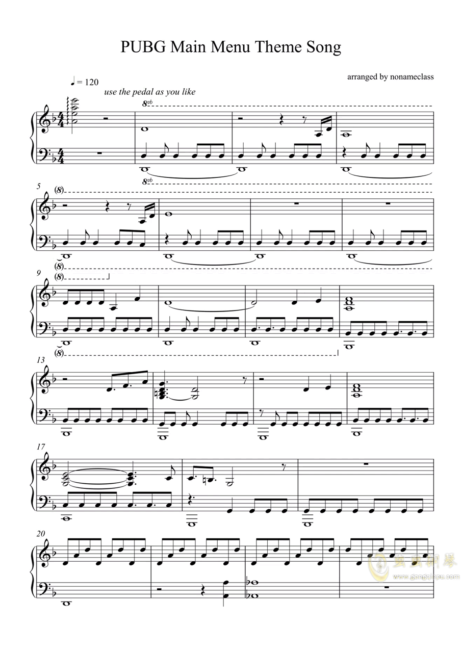 98k简谱-琴艺谱