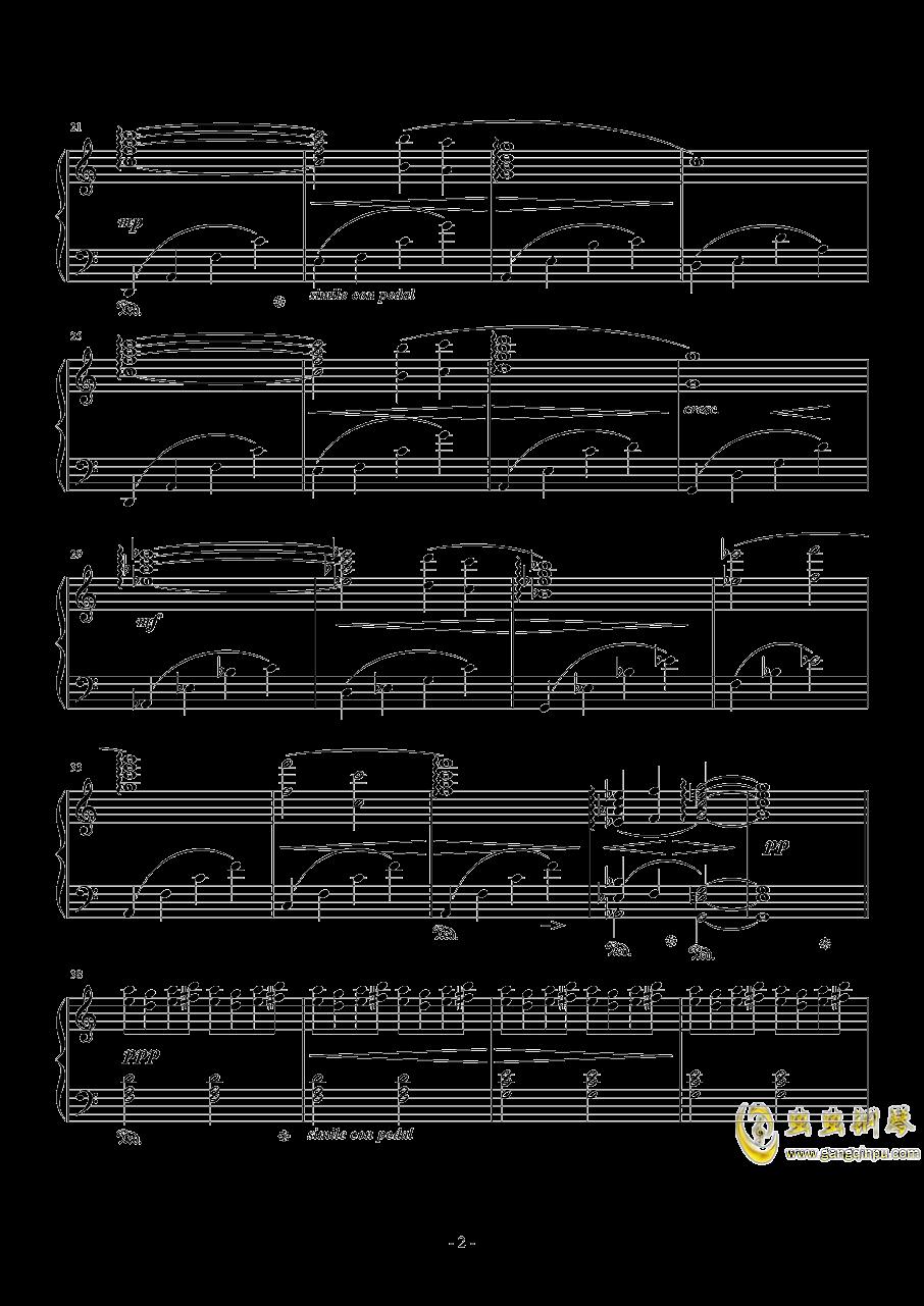 ファフラ ノウァ クリスタリス钢琴谱 第2页