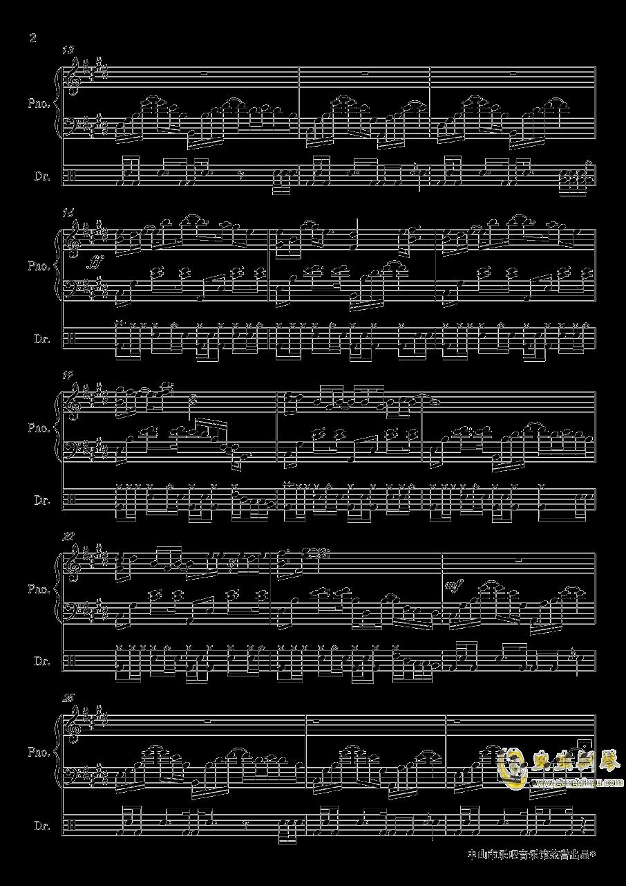 恋与制作人钢琴谱 第2页