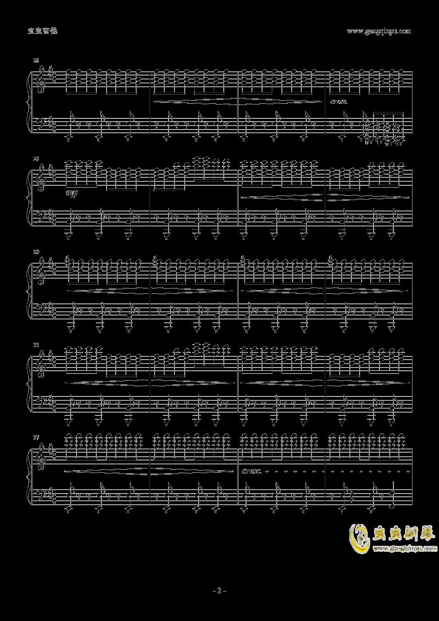 �W光钢琴谱 第2页