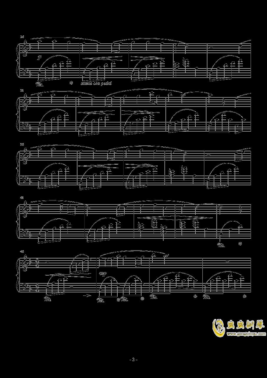 Answers钢琴谱 第2页