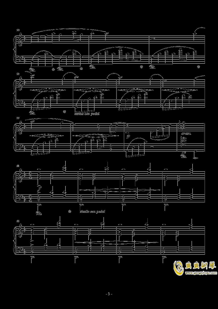Answers钢琴谱 第3页