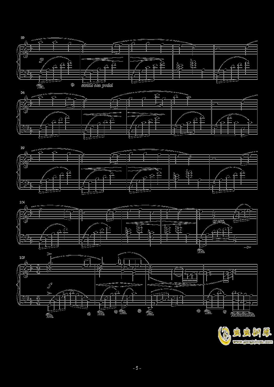 Answers钢琴谱 第5页