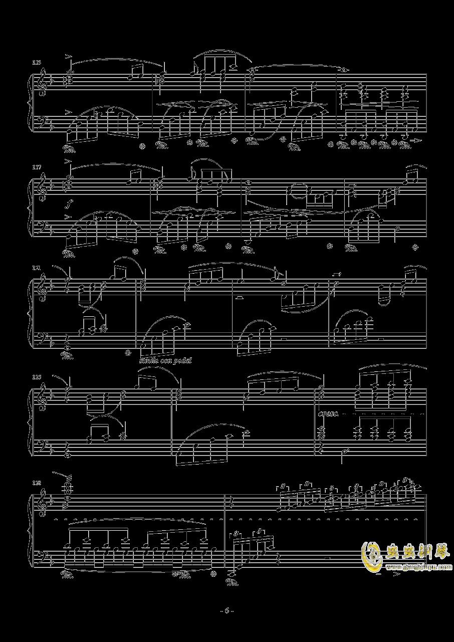 Answers钢琴谱 第6页