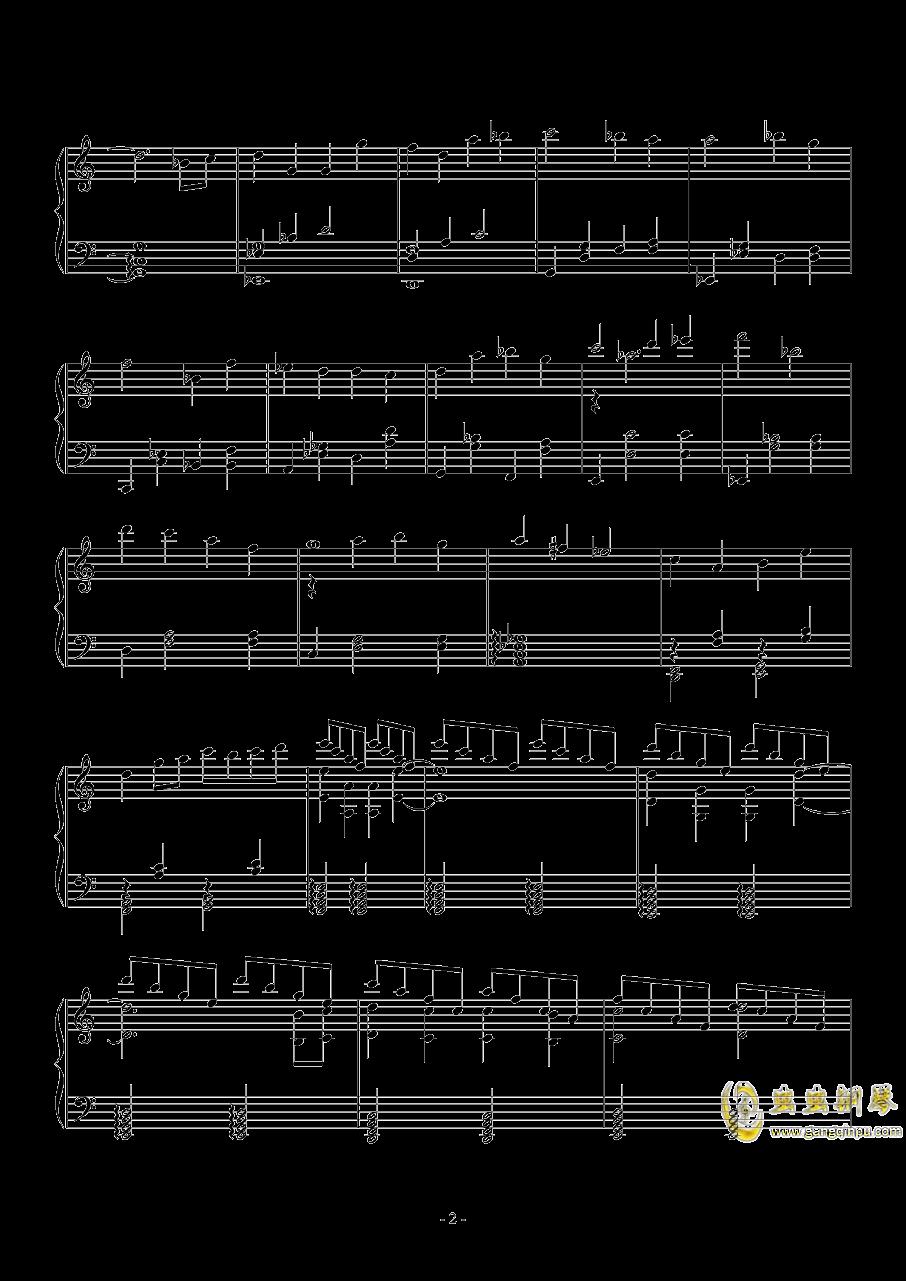 透ける瞳钢琴谱 第2页
