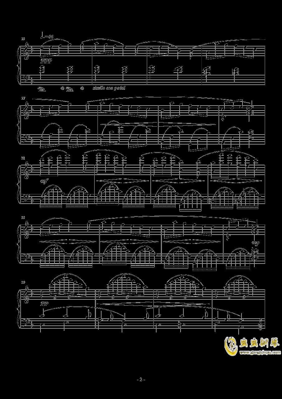 ロ�`ス・オフ・メイ钢琴谱 第2页