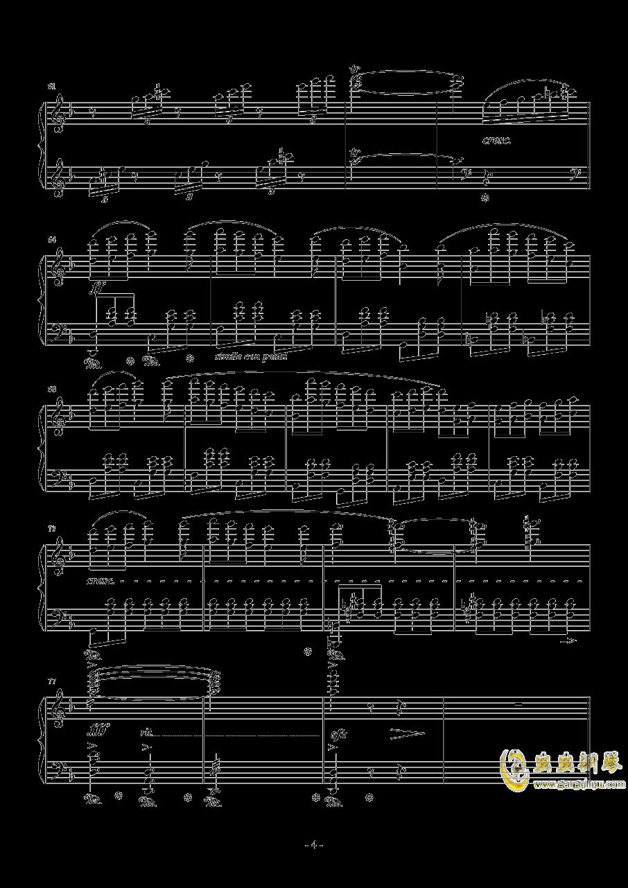 ロ�`ス・オフ・メイ钢琴谱 第4页
