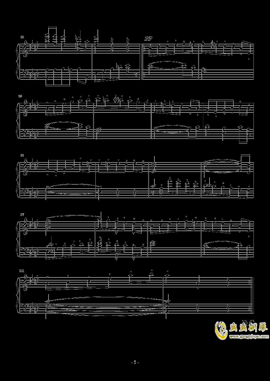 布鲁克纳   f小调交响曲钢琴谱 第5页