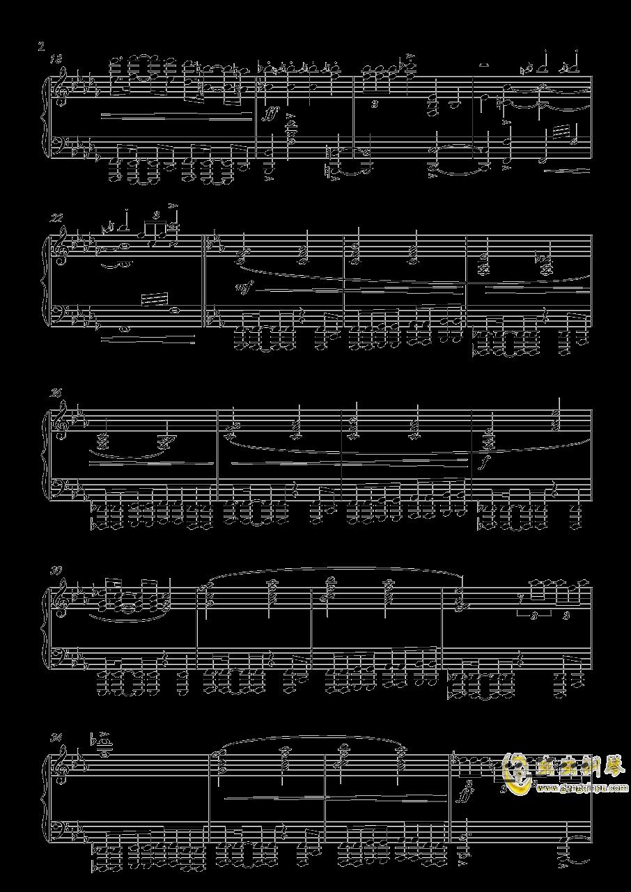 怪物猎人钢琴谱 第2页