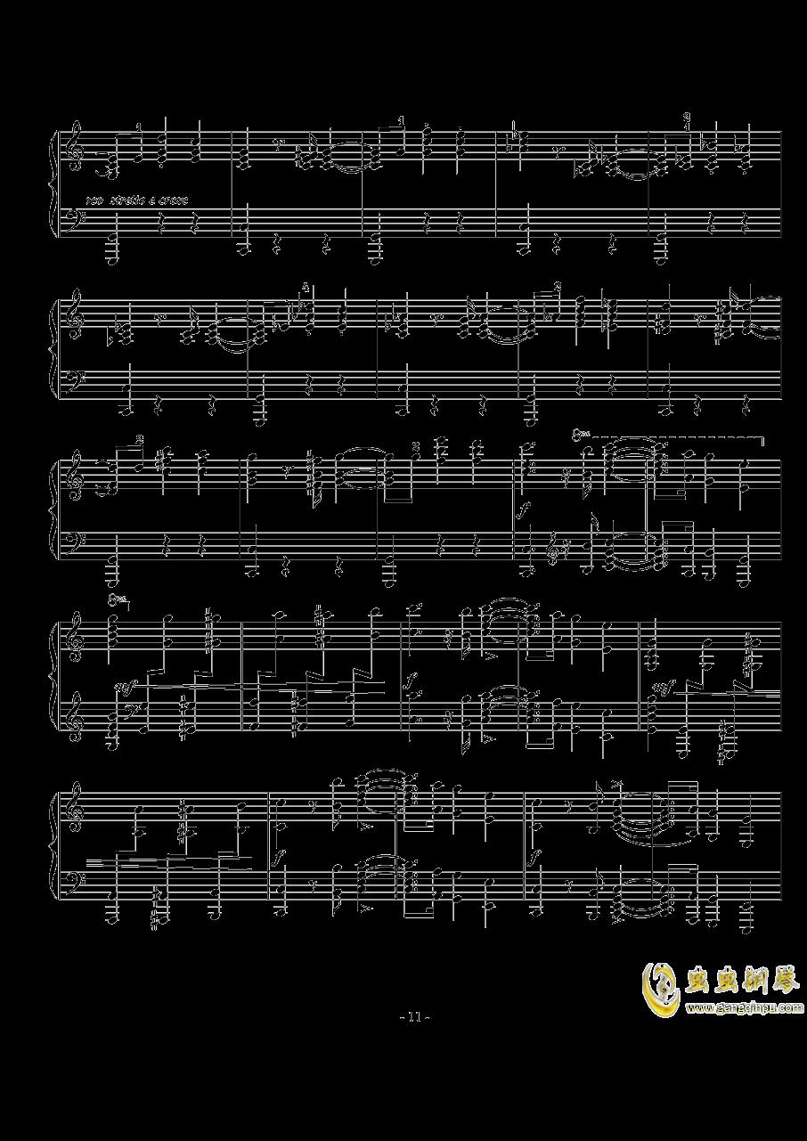 骑士风格圆舞曲钢琴谱 第11页