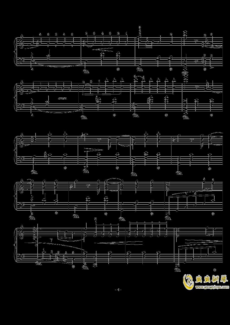骑士风格圆舞曲钢琴谱 第4页