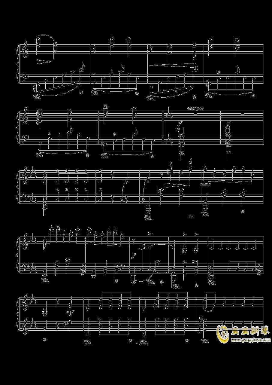 骑士风格圆舞曲钢琴谱 第7页