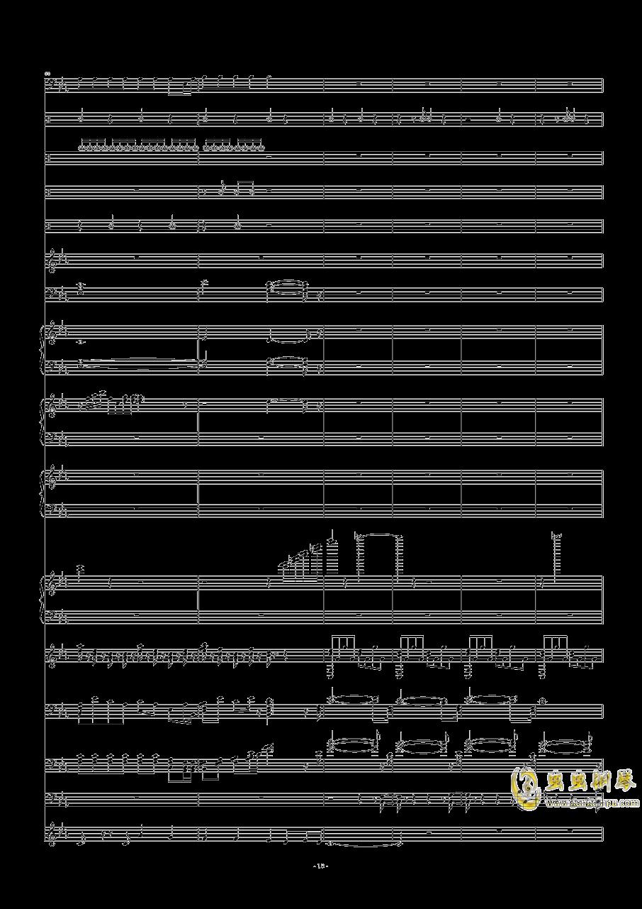碧绿色的兔子钢琴谱 第18页
