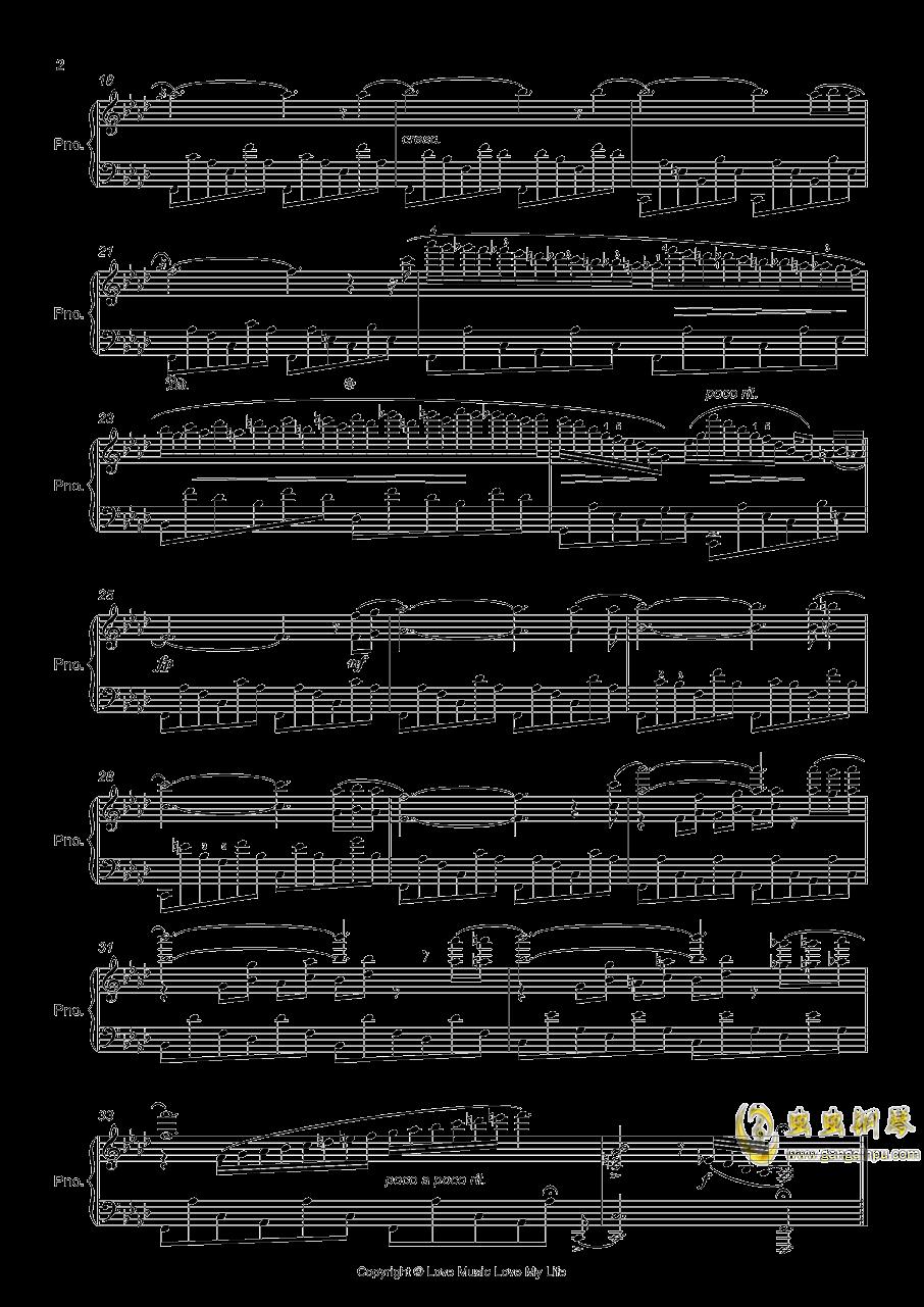 f小调练习曲钢琴谱 第2页