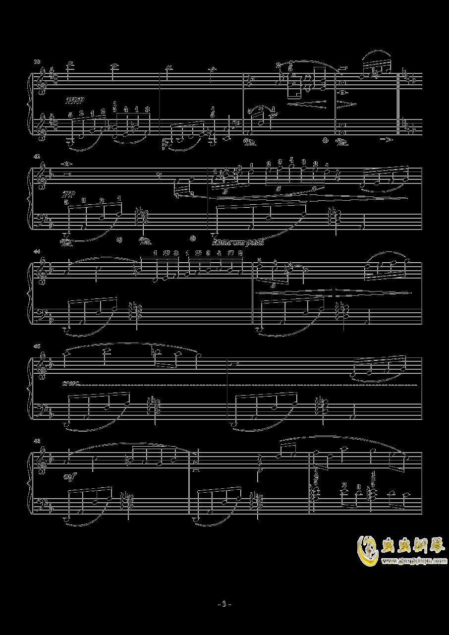 Dear Friends(交响乐版)钢琴谱 第3页