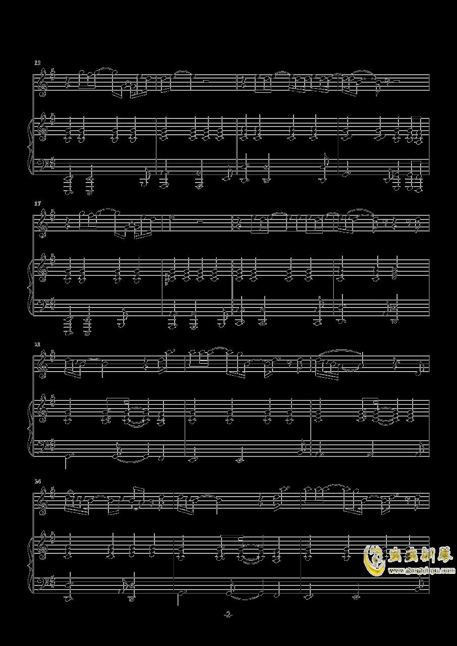 下坠钢琴谱 第2页