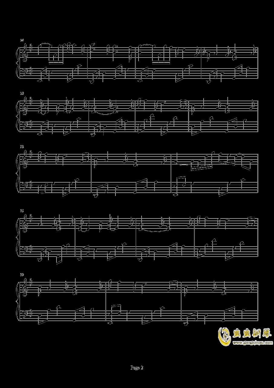 Beyond The Memory钢琴谱 第2页