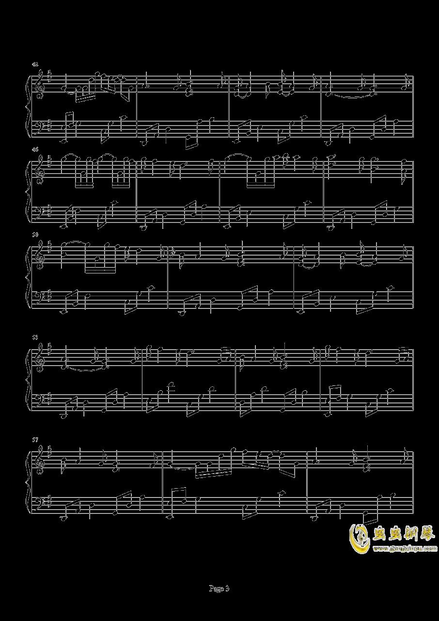 Beyond The Memory钢琴谱 第3页