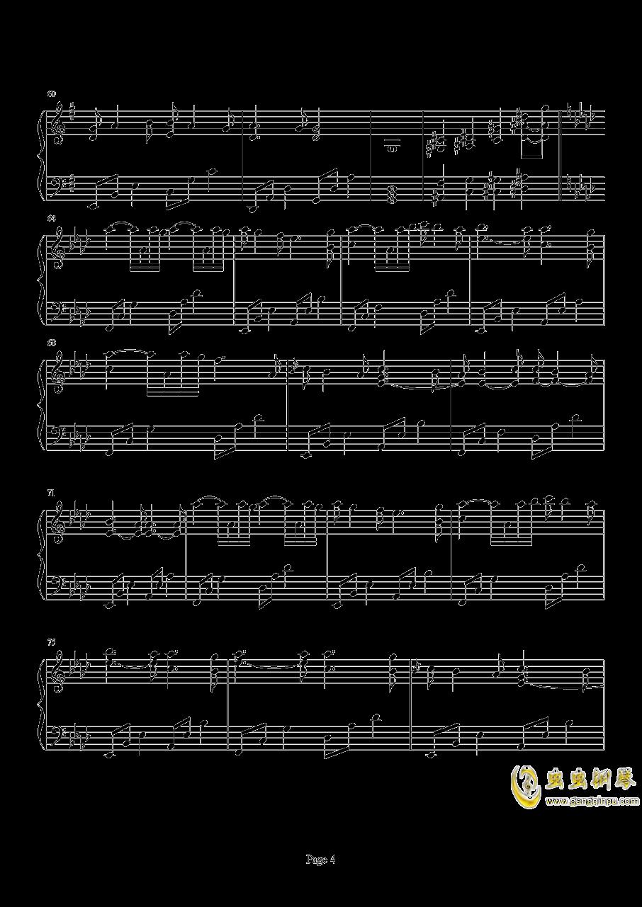 Beyond The Memory钢琴谱 第4页