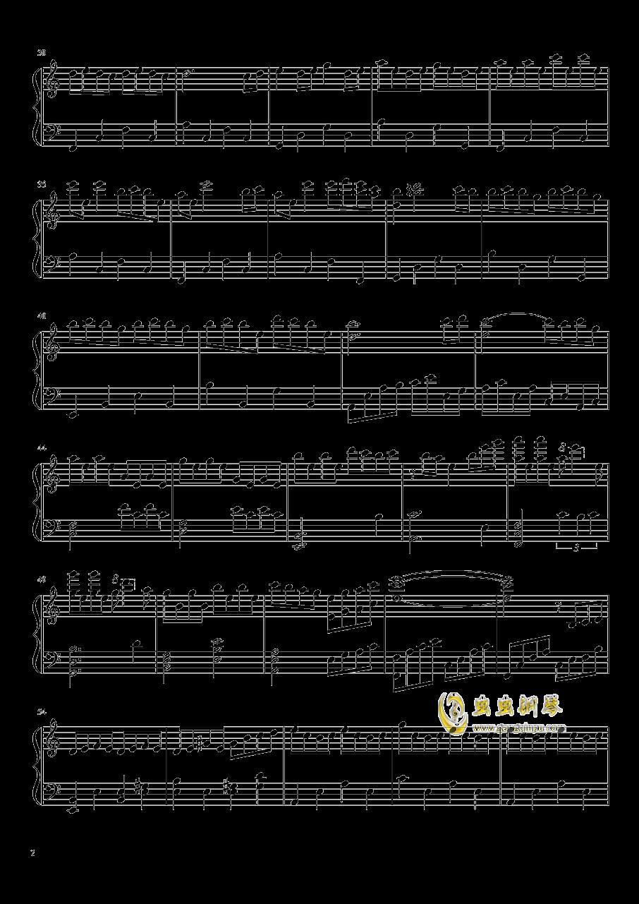 仍在凋零钢琴谱 第2页